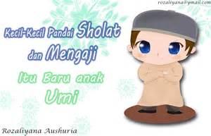 gambar kartun lucu islami