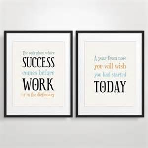 Office Desk Quotes Office Decor Typography Posters Inspirational Quote