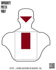 Printable handgun shooting targets which you can then print out