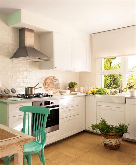 azulejos brillantes ideas de decoraci 243 n para cocinas peque 241 as