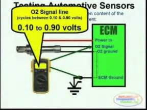o2 sensor wiring diagrams