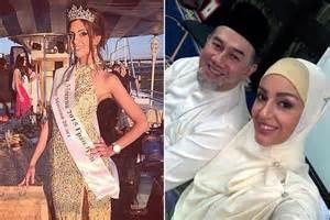 beauty queen converts  islam   queen  malaysia