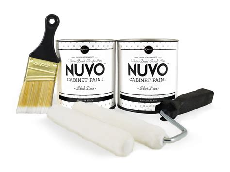 nuvo black deco cabinet paint kit giani inc