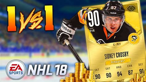 reset online stats nhl 15 betting my sidney crosby nhl 18 hockey ultimate team 1v1