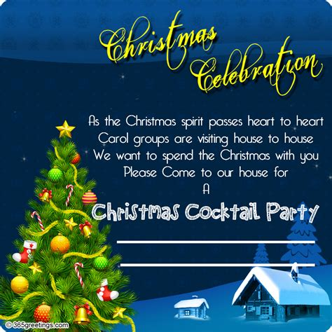 ideas for christmas party invitations wording wedding