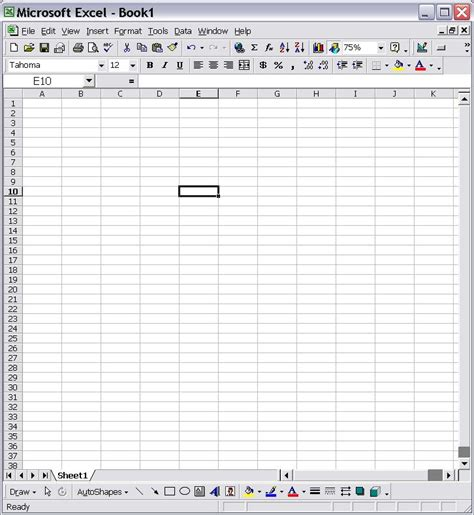 Blank Excel Spreadsheet by Blank Excel Spreadsheet Templates