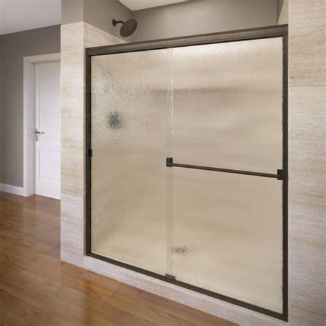 Shower Doors At Menards by Basco Classic 3500 Frameless Sliding Shower Enclosure At