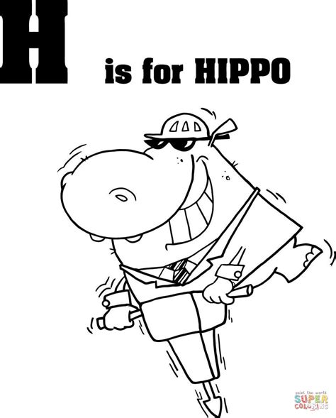 4 Letter Words Hippo h coloring pages is for helicopter alphabet grig3 org