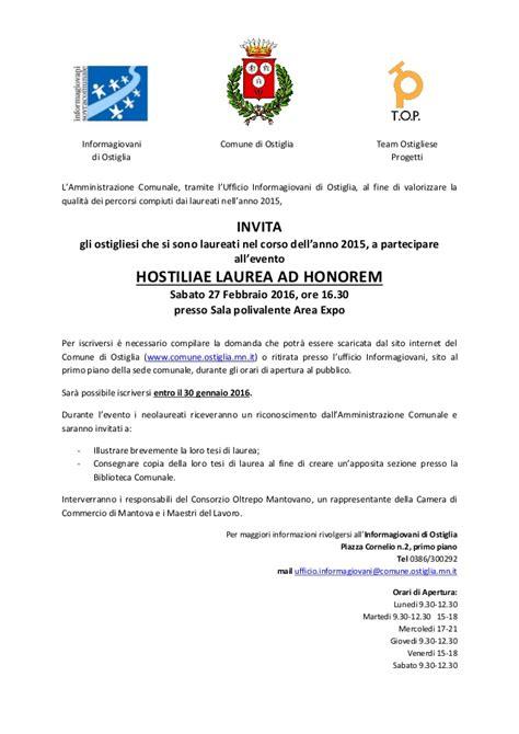modulo iscrizione ufficio di collocamento hostiliae laurea honorem modulo iscrizione