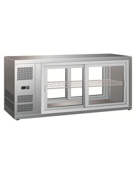 vetrina refrigerata da banco vetrina refrigerata ventilata con porte scorrevoli da cm