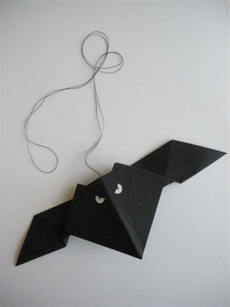 Origami Bat - origami bat design and form