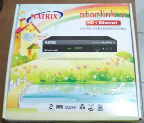 Harga Matrix Starlink V Ethernet New digital parabola indahelektronik