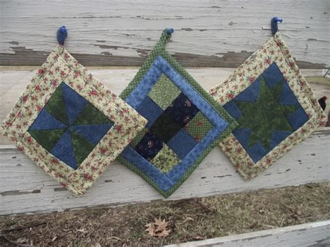 Quilted Potholders Tutorials 17 best images about kitchen sewing on