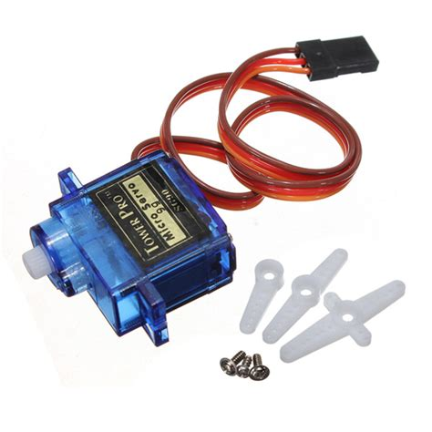 Electronic Gadgets For Home by Sg90 180 Degrees 9g Micro Servo Motor Tower Pro