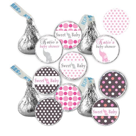 printable stickers for hershey kisses hershey kiss stickers printable baby girl shower