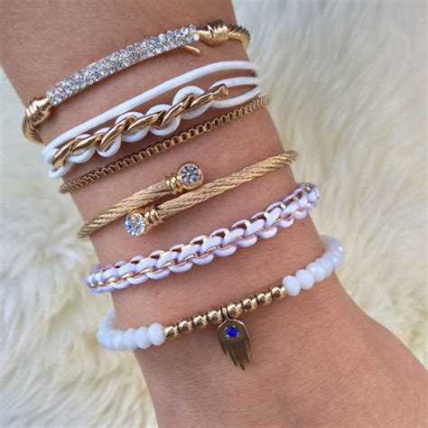 Trend Alert Girlie Chains by Jewels Shopping Chichime Bracelets Girly Trendy