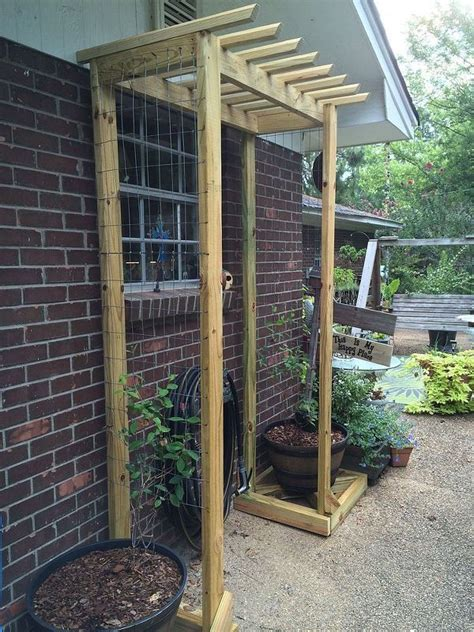 diy trellis arbor 25 best ideas about diy trellis on pinterest trellis