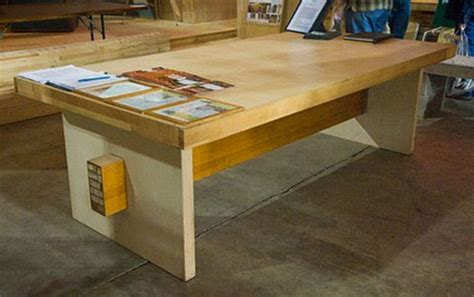 butcher block bench butcher block non warping patented honeycomb panels and