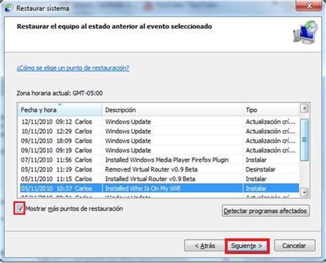 restaurar visor de imagenes windows 10 restaurar el sistema en windows 7