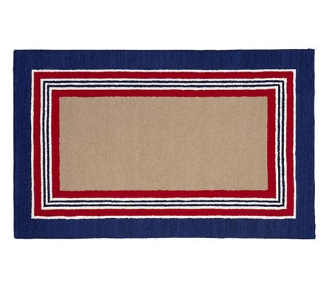 pottery barn striped rug tailored striped rug navy pottery barn adam s room barn room and