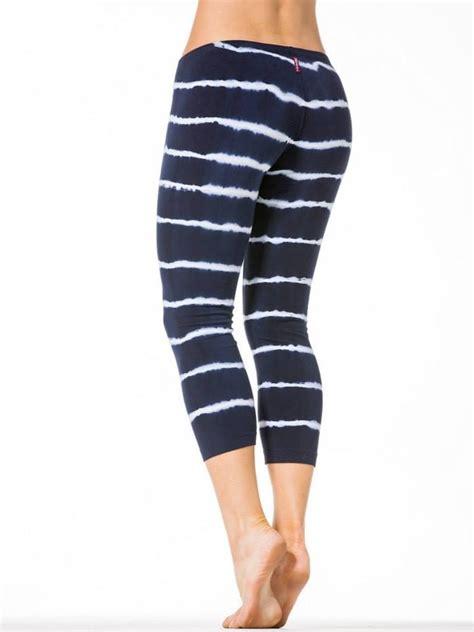 Cayona Flat Tali Stripe flat waist panel black stripe small