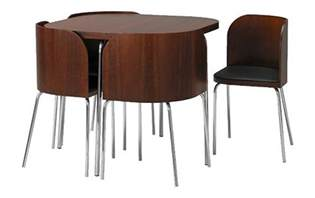 Kitchen Tables And Chairs For Small Spaces Ikea Fusion Small Spaces Dining Table And Chairs Set