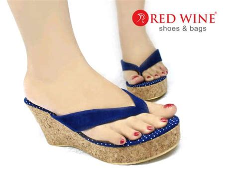 Sepatu Boots Wedges pin by sepatu wanita on sepatu sandal heel flat wedges boots redwine