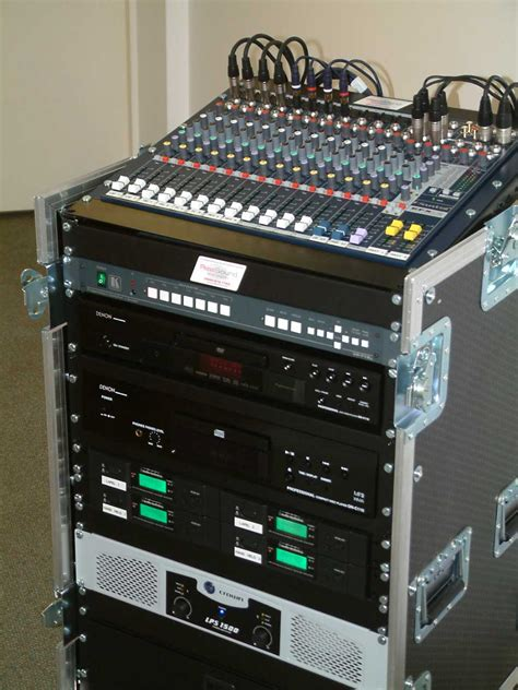 Sound Rack System installed sound realsound and vision ltd