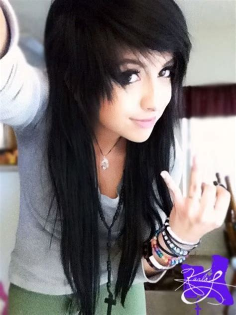emo hairstyles at home emo hairstyles for girls the xerxes