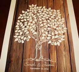 guest book tree wood wedding tree guestbook wedding tree
