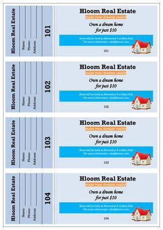 free raffle flyer templates office templates