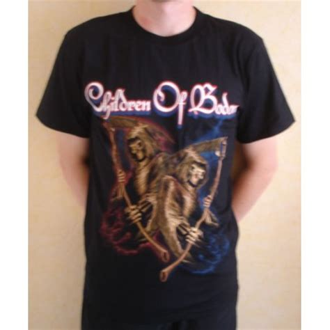 Children Of Bodom T Shirt shirt children of bodom fringues power metal rockshop