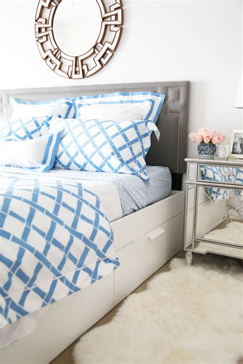 White And Blue Bedding by Blue And White Bedding