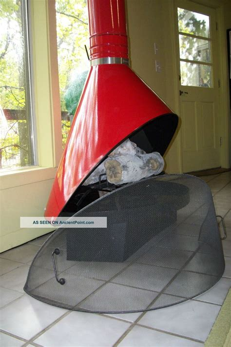 Retro Cone Fireplace by Retro Mid Century Modern Red Preway Fireplace Enamel