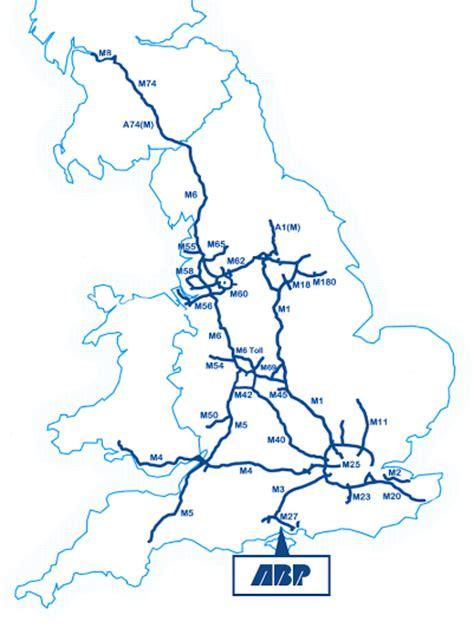 map uk motorways home southton vts abp southton