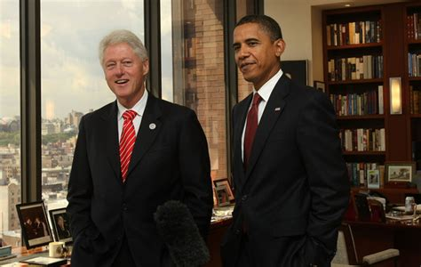file barack obama and bill clinton in the oval office jpg ford pride august 2009
