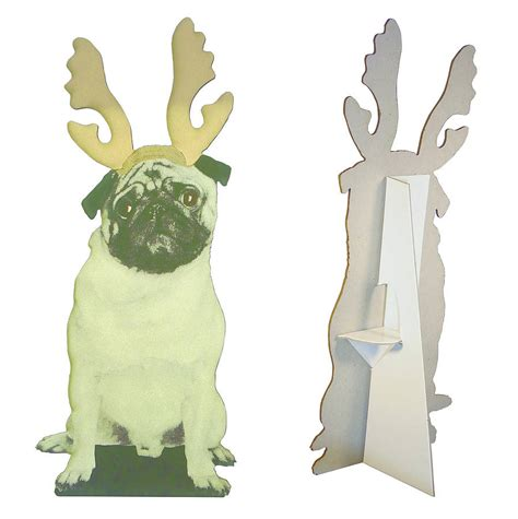 pug decorations pug decoration by spotted notonthehighstreet