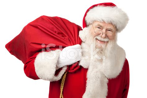 Is There A Real Free Search Pictures Of Real Santa Claus Carrying A Gift Bag Stock Photos Freeimages