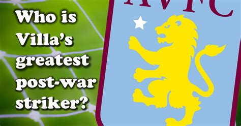 aston villa quiz book 2017 18 edition books who is the greatest aston villa post war striker vote now