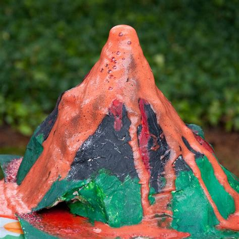 Handmade Volcano - exploding volcano
