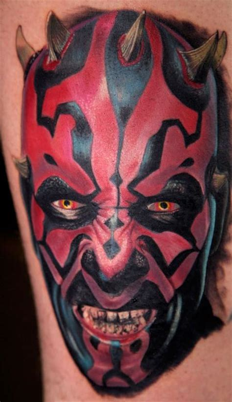 darth maul by christopher allen tattoo inspiration