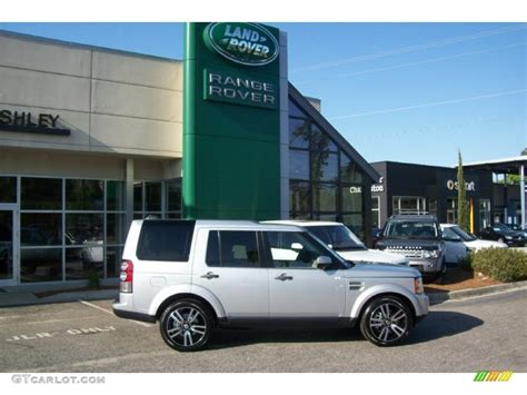 land rover lr4 silver 2012 indus silver metallic land rover lr4 hse lux