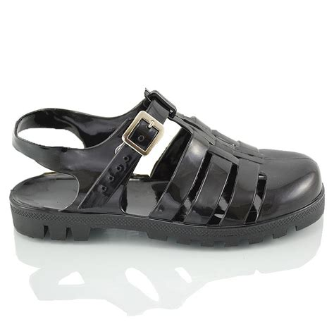 jelly sandals 90s womens retro jelly sandals 90 s buckle