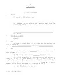 Simple Residential Lease Agreement Template by Best Photos Of Simple Rental Agreement Form Simple