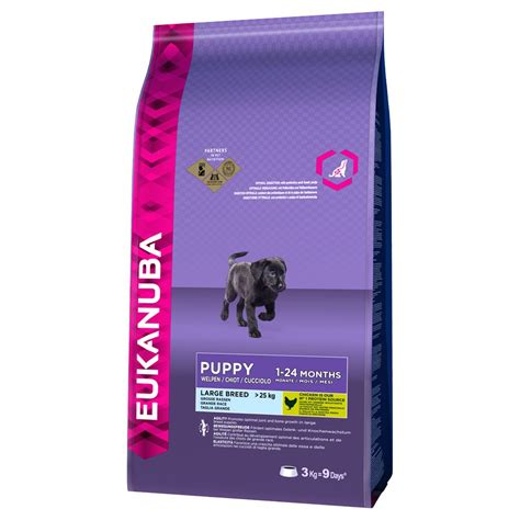 large breed puppy food comparison eukanuba large breed puppy food 3kg pet care and wildlife flexyourplastic