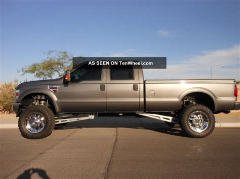 crew cab long bed custom 2008 ford f 350 duty crew cab long bed 6 4 diesel 4x4 automatic
