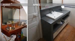 Superbe Beton Cire Dans Une Salle De Bain #1: avant-apres-renovation-salle-de-bain.jpg