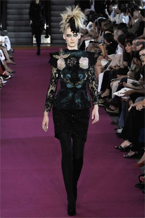 Christian Haute Couture 2008 Front Row by Christian Lacroix Parigi Haute Couture Fall Winter 2008