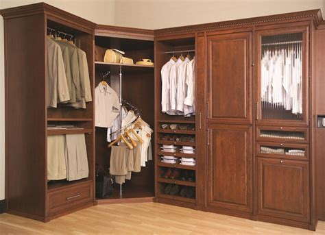 Closet Custom Design by Closets Siena Walk In Spiral Hanger