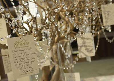 diy style wishing tree preowned wedding dresses